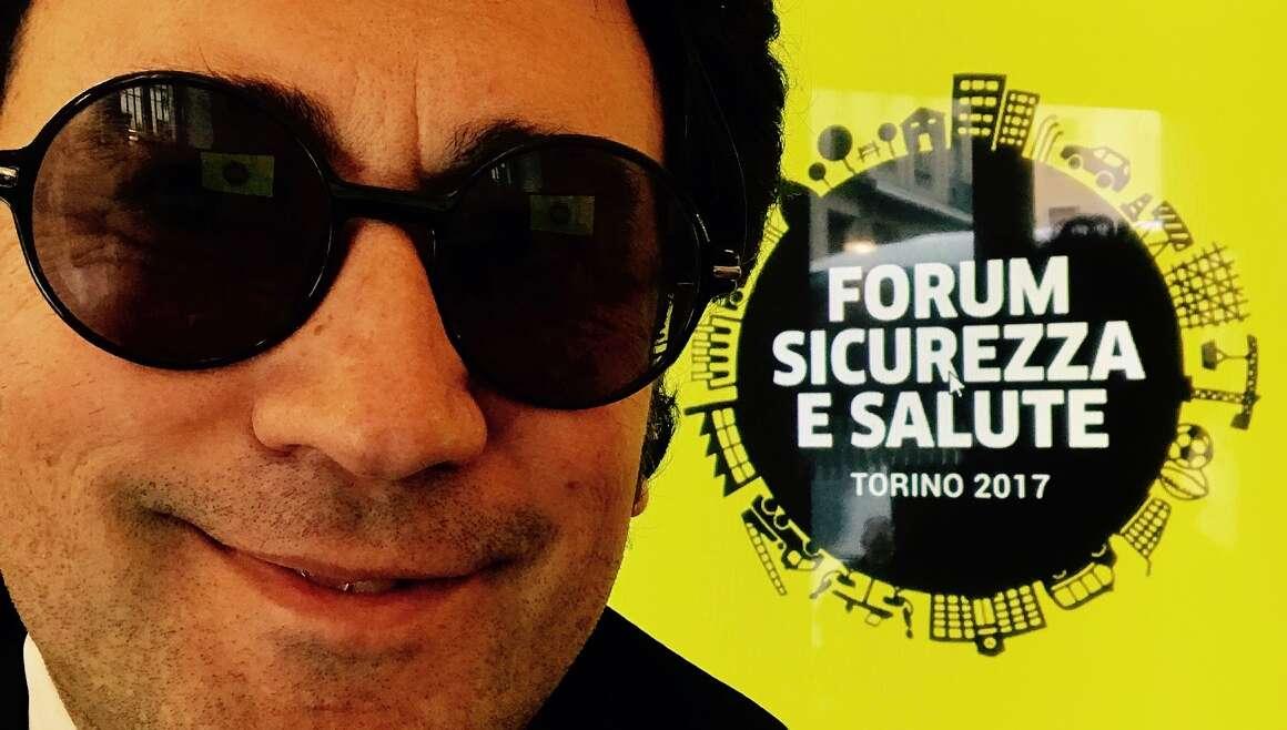 Torino - Presentazione dei libri al Forum Sicurezza salute 2017