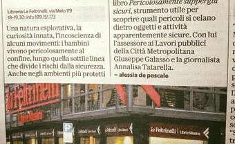 Bari, 13.02.2018 – Pericolosamente alla Feltrinelli