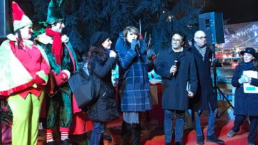 Milano, 05.01.2018 (Giardini Idro Montanelli)…un salto tra i bambini nel loro parco d'inverno